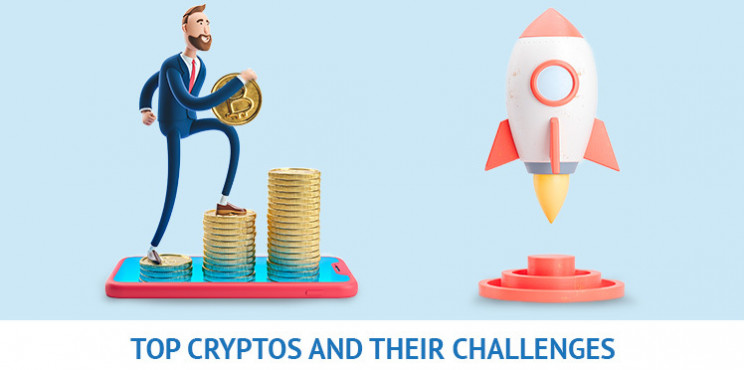 Top Cryptocurrencies and Their Challenges